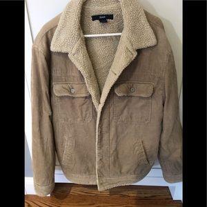 Men's Sherpa corduroy jacket